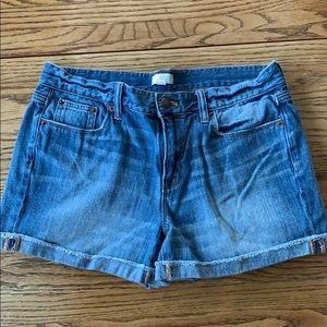 J. Crew 2 inch jean shorts size 28